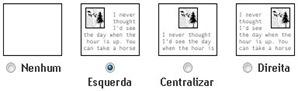 Blogger - janela de inserção de imagem 2