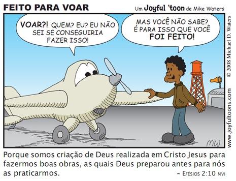 Joyfull 'toon_Feito pra voar