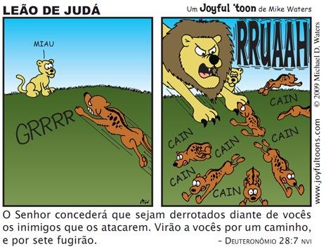 Joyfyl 'toon_Leão de Judá