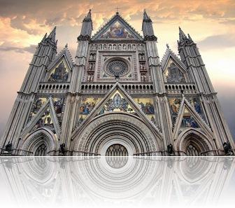 Catedral de Orvieto, Úmbria, Itália [Henrique Alfonso Triviño]