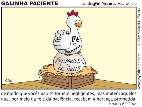 Joyful 'toon 27_Patient hen