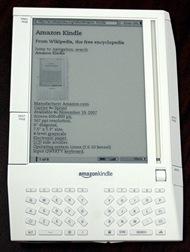 Amazon Kindle [Shakata Ga Nai em Wikimidia Commons]