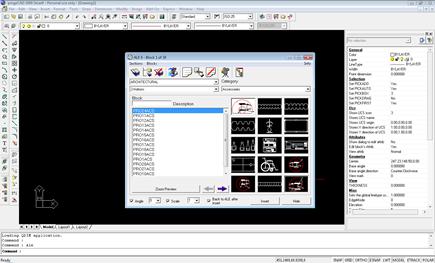 ProgeCAD Smart! 2009 (screenshot)