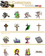 Imagens cristãs de CoolCLIPS.com