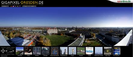 A maior foto do mundo (screenshot do website)