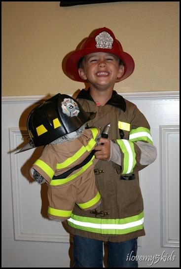 My lil' fireman