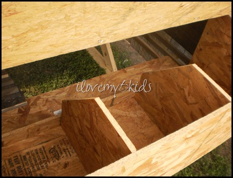 Homemade Chicken Nest Boxes