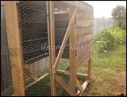 Homemade Chicken Door