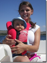 Boating with Mom