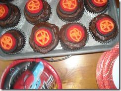 tire cupcakes