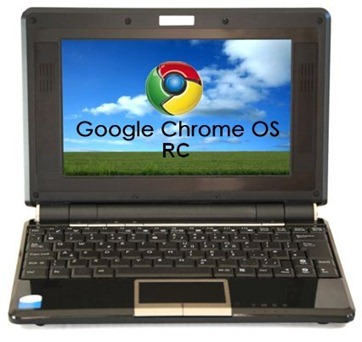 Google Chrome OS RC