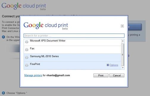 CloudPrint-lista-de-impresoras