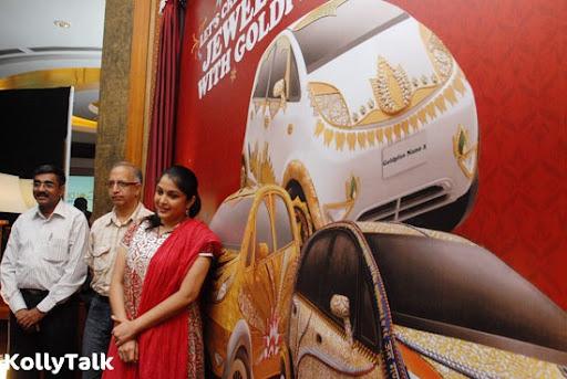 Ramya Krishnan and Titan Industries unveils the GoldPlus Nano car designs