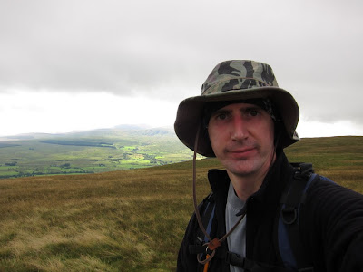 Jonny at the top of Souther Fell