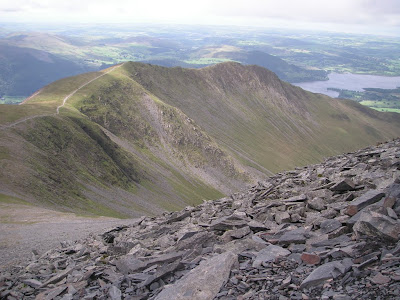 Path to Skiddaw south summit