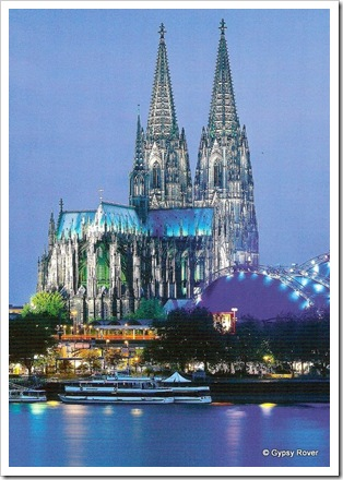 Cologne Cathedral or Dom as it is known