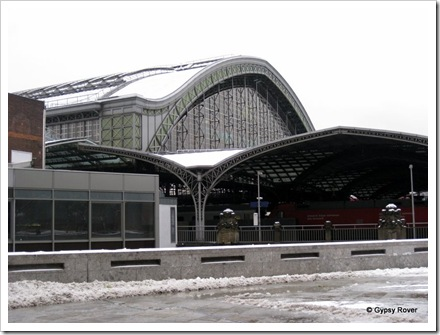 Cologne railway station.