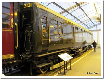 Southern Railways 4-COR electric unit for the Waterloo, Portsmouth services. Introduced 1937, withdrawn 1973.
