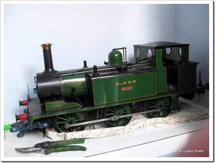 5 Inch scale model of a Terrier tank loco.