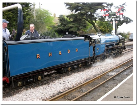 Romney Hythe and Dymchurch railway. Hurricane built in 1926.