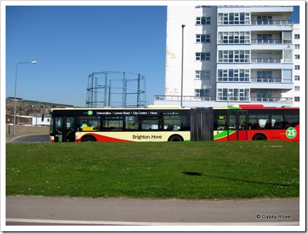 Brighton & Hove bus co: also have bendy buses.