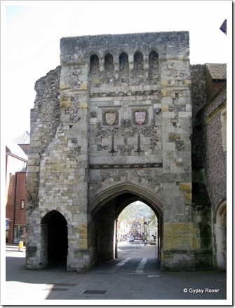 West gate Winchester.
