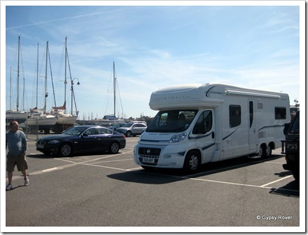 Gypsy Rover at Penzance sea front car park.