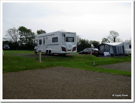 Gypsy Rover at Valley Truckle camp, North Cornwall.