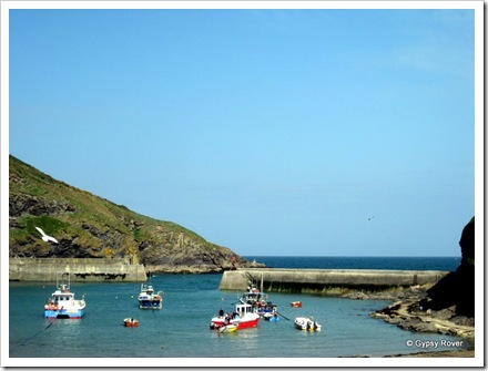 Port Isaac harbour just for fishing boats.