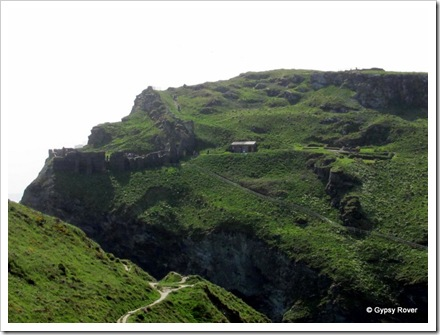 Tintagel castle.