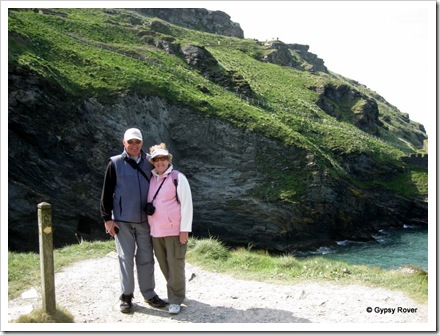 Tintagel castle