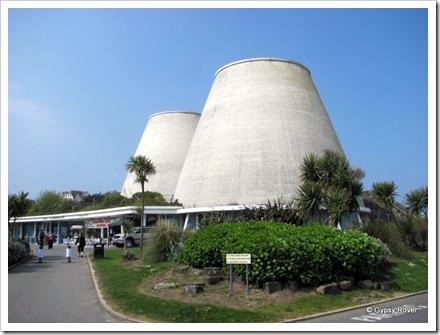 Not a nuclear power station but a theatre at Ilfracombe.