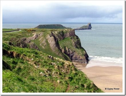 Worms Head, Rhossili Bay, Wales.