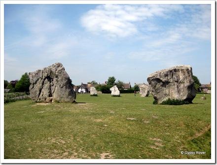 These stones are gigantic.