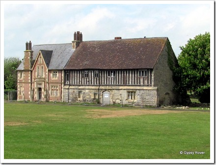 Llanthony Secunda Priory near Gloucester Docks.