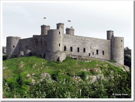 Harlech Castle.