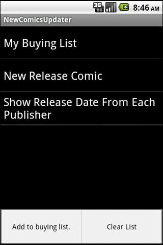 Thai New comics Updater