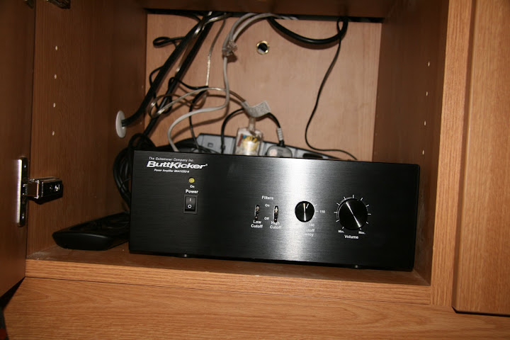 Buttkicker amp