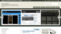 WordPress To Blogger