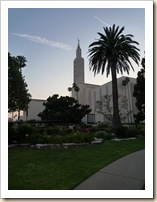 Mormon Temple in L.A.