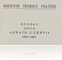 Archivio Storico pratese