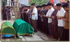 Ahmadiyah funeral