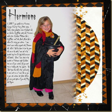 Hermione Left Page