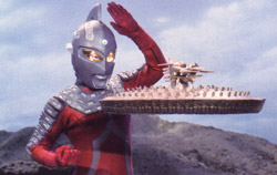 Ultra Seven in action