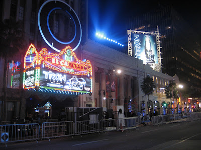 Tron: Legacy Hollywood premiere