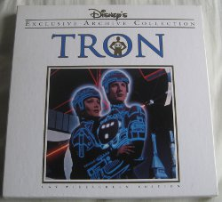 Tron laserdisc - front