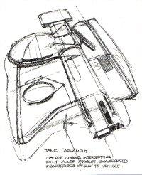 Syd Mead Tron design