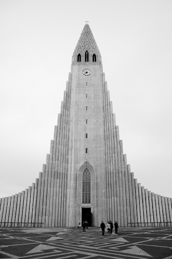 Kyrka i Reykjavik