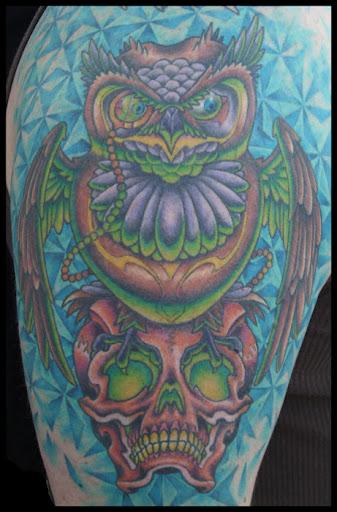 Earl Funk Trinity Tattoo Owl Tattoo