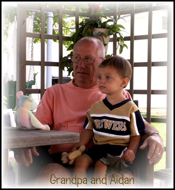Aidan and Grandpa